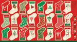 Panel Christmas Mini Stocking Traditional