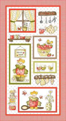 Patchworkstoff Country Cuisine 01 Panel