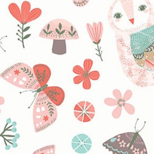 Patchworkstoff Forest Owl 10
