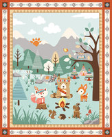Patchworkstoffe Camp-a-Long Critters