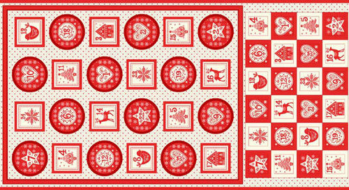 Panel Adventskalender 28 Scandi Christmas